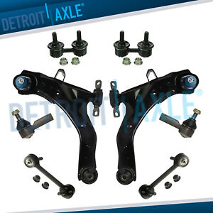 New 8pc Front And Rear Suspension Kit For Hyundai Elantra 2001 2006