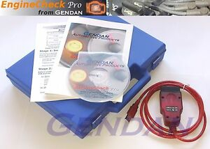 Gendan Enginecheck Pro Usb Car Diagnostic Pc Scan Tool Package Eobd Obd ii