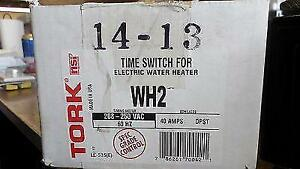 Tork Wh2 Time Switch For Electric Water Heater
