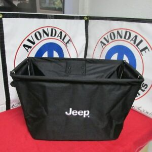 Jeep Cherokee Portable collapsible Storage Tote Mopar Oem New