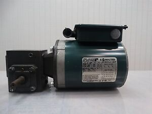 Reliance Electric Motor P56x1331g 1 4hp 230 460v 90 45a W dayton Reducer 30 1