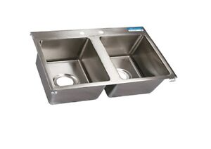 Drop In Sink Commercial Restaurant Industrial Kitchen Bbk dis 2016 2