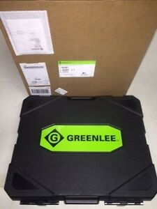 New Greenlee 7310 Sb Ko 555 853 854 855 Hydraulic Knockout Punch Set Case 1 2 4