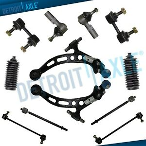 Lower Control Arm Tie Rod Sway Bar Ball Joint Set For Lexus Es300 Toyota Camry
