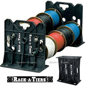 Rack a tiers Wire Dispenser Cable Caddy Portable Rack Holder Electricians 11455