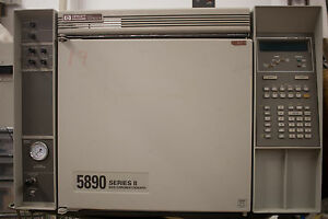 Hp 5890 Series Ii Gas Chromatograph gc
