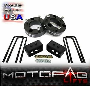 2 5 Front And 1 5 Rear Leveling Lift Kit For 2009 2018 Ford F150 4wd Usa Made