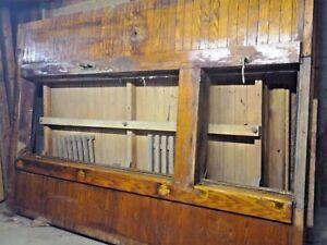 Antique Mccray Meat Cooler 100 Years Old incredible Wooden Meat Locker Usa
