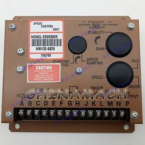 New Electronic Engine Speed Governor Controller Esd5500e For Gac