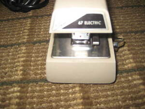 Electric Stapler Model 67 Swingline