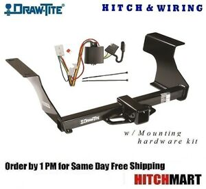 Class 3 Draw Tite Trailer Hitch Wiring For 2009 2013 Subaru Forester 75650