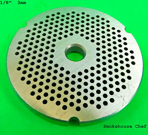 32 X 1 8 3 Mm Stainless Meat Grinder Biro Hobart Plate Disc