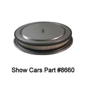65 64 63 62 61 60 59 58 348 409 Chevy Chevrolet Bel Air 2x4 Open Air Cleaner