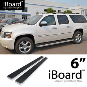 Iboard Running Boards 6 Inches Fit 00 20 Chevy Avalanche Suburban Gmc Yukon Xl