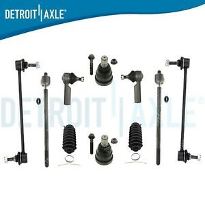 New 10pc Complete Front Suspension Kit For Ford Escape Mazda Tribute 2001 2004