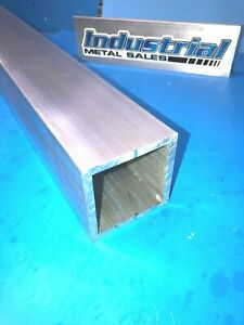 3 X 24 long X 1 4 Wall 6061 T6 Aluminum Square Tube 3 X 250 Wall