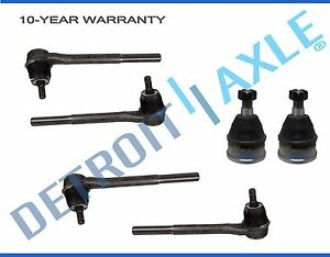 Lower Ball Joints Inner Outer Tierods 1982 1992 Chevy Camaro Pontiac Firebird