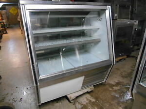 Leader 48 Bakery deli Refrigerated Ss Display Case