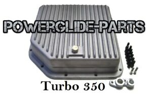 Racing Aluminum Deep Transmission Pan Turbo 350 T 350 350 Chevy Gm