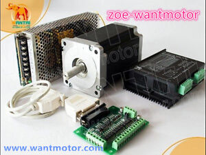 New usa Free Ship cnc Wantai 1axis Nema34 Stepper Motor 1090oz 5 6a
