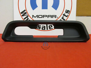 Jeep Cherokee Trailer Hitch Bezel New Oem Mopar