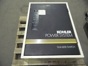 Kohler K 168341 0104 208 Volt 104 Amp 4 Wire 3 Pole Automatic Transfer Switch