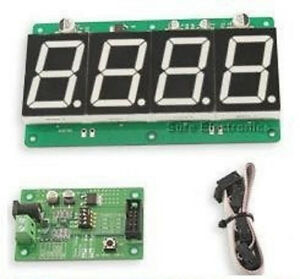 1 8 Character Height 7 segment Led 4 Digit Information Board usa