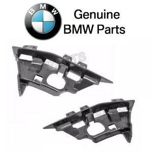 For Bmw E85 E86 Z4 Pair Set Of Front Left Right Bumper Cover Supports Genuine