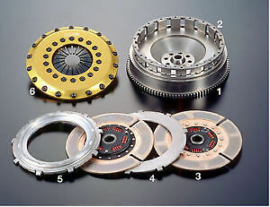 Os Giken Tr2cd Twin Plate Clutch For Toyota Jza80 Supra