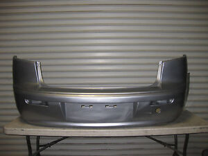 2008 2013 Mitsubishi Lancer Base 4 Door Sedan Oem Factory Rear Bumper Cover