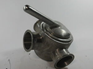 3 Stainless Steel 3 way Valve