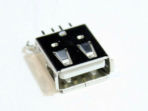 Usb Type A Female Dip Type Connector 3u Gold Solder Type Replacement