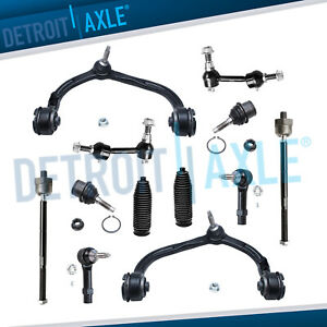 Expedition Navigator 12pc Front Upper Adjustable Control Arms Suspension 15