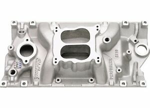 Edelbrock 2116 Small Block Chevy Vortec Performer Intake Manifold Dual Plane