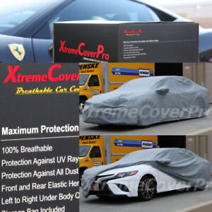 2018 2019 Toyota Camry Breathable Car Cover W Mirror Pocket Grey