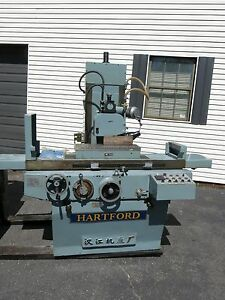 Hartford 8x24 3 Axis Surface Grinder Barely Used