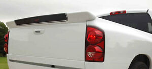Fits Dodge Ram Pick up 2002 2008 Painted Rear Tailgate Spoiler