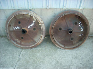 Ih Farmall Mccormick International F12 F14 Front Steel Wheels