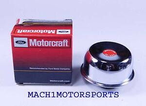 Nos Ford Motorcraft Chrome Twist On Oil Filler Breather Cap Mustang F100 Comet