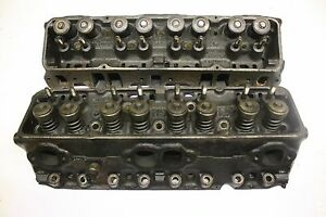 Chevy 3973493 Small Block Cylinder Heads 400 1970 76 1 94 1 50 76cc Steel Sbc