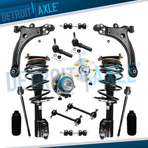 16pc Front Complete Strut Set Suspension Kit For Chevrolet Chevy Buick Fwd
