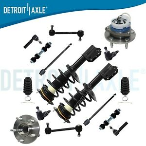 Complete 16pc Front Suspension Kit Pair 2 Front Strut Assembly Buick Chevy