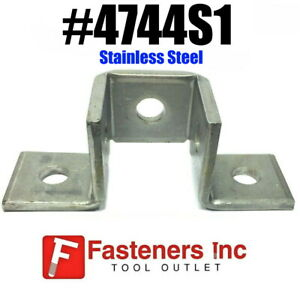 4744s1 P2345 Stainless Steel 5 hole Wing Fitting For Unistrut 3wing