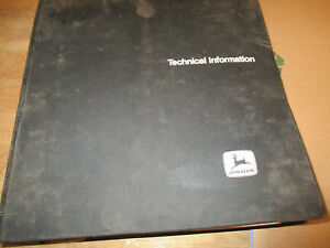 John Deere 755a Crawler Loader Technical Manual Tm 1231 With Binder