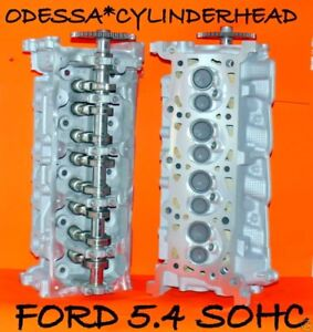 Pair Ford Lincoln Navigator 4 6 5 4 Sohc Cylinder Heads Casting Rf 2l1e Only