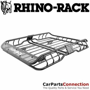 Rhino Rack Usa Rmcb01 Xtray Small Universal Cargo Roof Basket Carrier Fairing