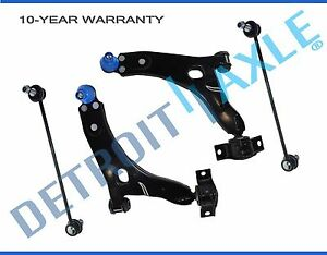 Front Lower Control Arms Sway Bar Link For 2000 2001 2002 2003 2004 Ford Focus