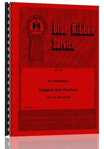International Harvester 1 Hay Conditioner Service Manual