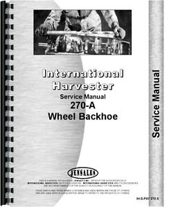 International Harvester 270a Pay Loader Service Manual