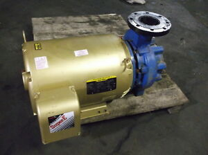Baldor 50 Hp Armstrong Pump 6 Suction 4 Discharge 230 460 Volt